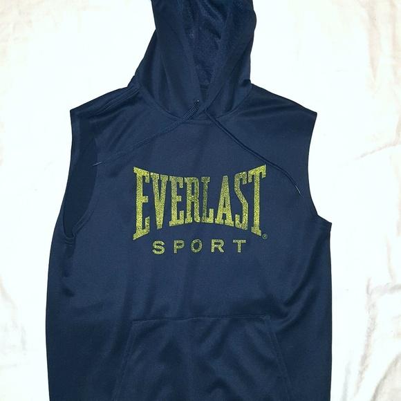 8da1a95bf2b7d Everlast Other - Everlast sleeveless hoodie top sz small